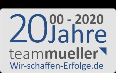 20 Jahre Team Müller
