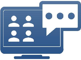 Per Online-Meeting die Unternehmensberatung Team Müller kontaktieren